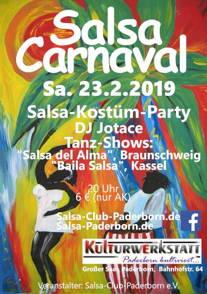 Flyer Salsa Carnaval 2019