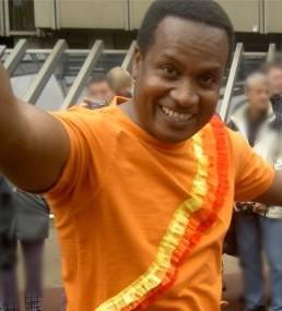 Ken mit den Caderas Calientes beim Bielefelder Carnival der Kulturen 2004